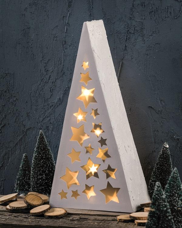 Beton Weihnachtsdeko.Moderne Weihnachtsdeko Mit Effektfolie Sternenglanz Deutschland